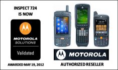 Inspect 724 - Motorola Rugged Devices